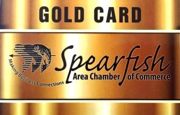 Spearfish Gold CArd