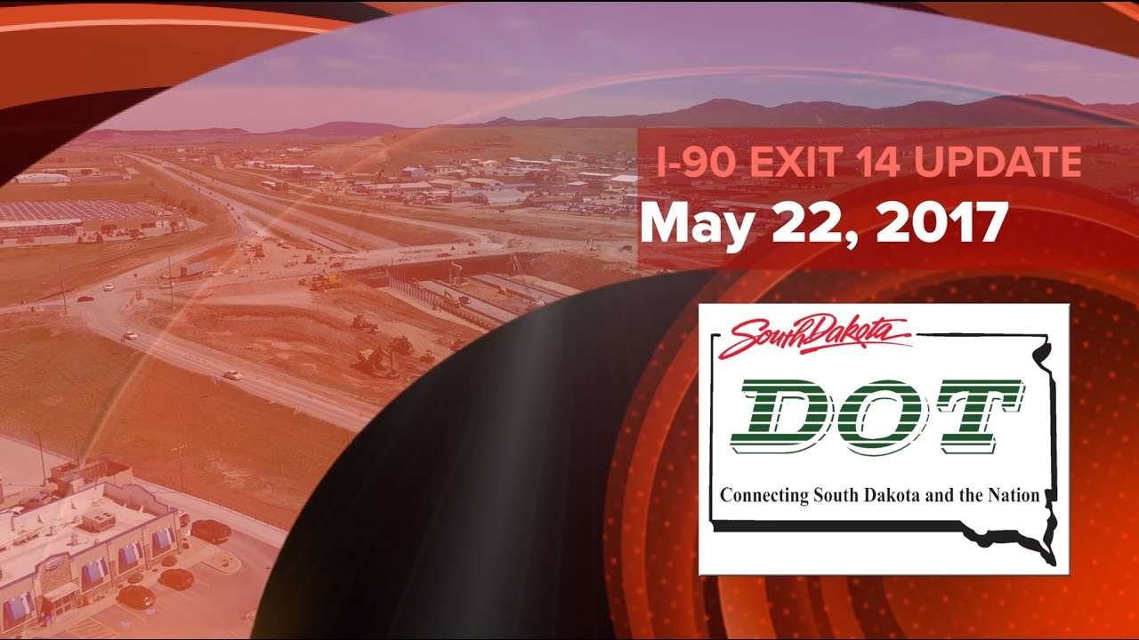 This is a South Dakota Department of Transportation video update on the construction progress of the I-90 Exit 14 interchange at Spearfish, South Dakota for ...