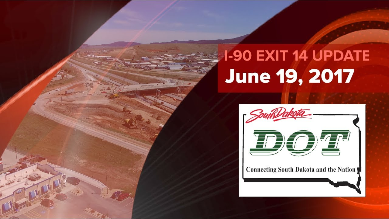 This is a South Dakota Department of Transportation video update on the construction progress of the I-90 Exit 14 project at Spearfish, South Dakota for the ...