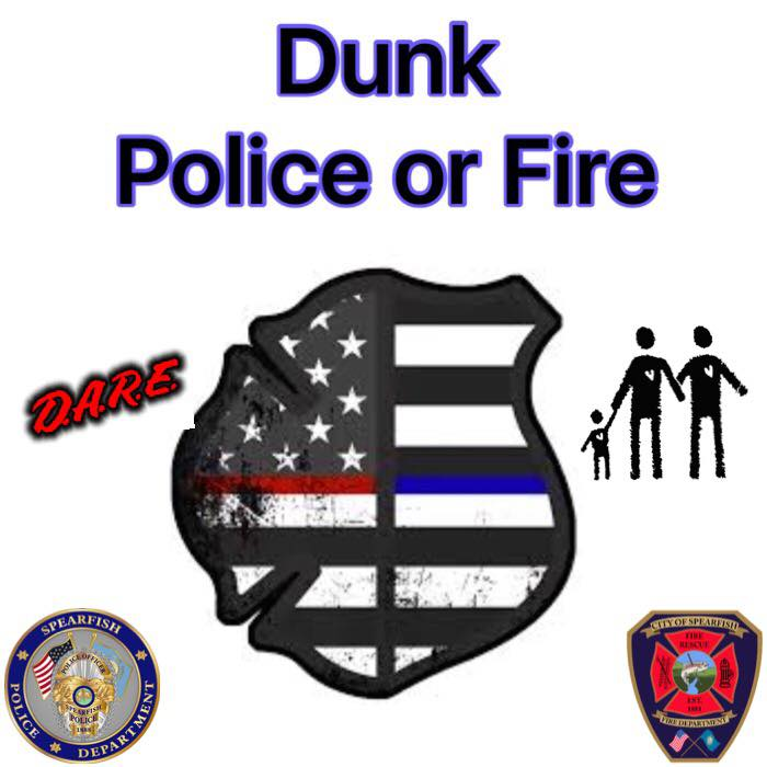 Non-Emergency Announcement:  Who wants to come out and DUNK Rick? Tomorrow from 6 to 8 PM there will be a policeman and firemen dunking! Police officers and firefighters will be taking turns getting dunked!  Proceeds for the police department side will go to the dare program. Proceeds for the firemen side will go to victims assistance program.   This is a fun way to go out and meet local police and fire personnel and raise money for a great cause! So please come on out and dunk me over and over! But be careful if you DUNK me I just my have a few surprises of my own. ;)  Thanks  Rick!  Please share this so everybody will know about this event. Thank you for everybody's support!