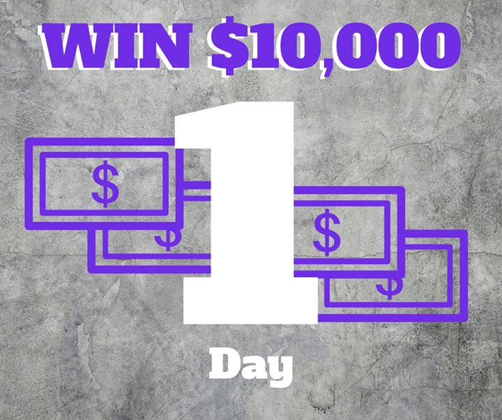 This IS NOT a drill! Only 1 day until the drawing for $5,000 or $10,000! Call (605)-642-2626 to purchase your $50 fundraiser raffle ticket OR stop on by 106 W Kansas St.   Tickets can also be purchased online at spearfishchamber.org  **This raffle REPLACES THE HARLEY**  LIMITED TICKETS SOLD. NEED NOT BE PRESENT TO WIN.