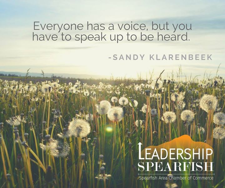 What a great opening weekend for new Leadership Spearfish Class! Here is a fun quote that came out of the retreat at Fillmore Mine.
