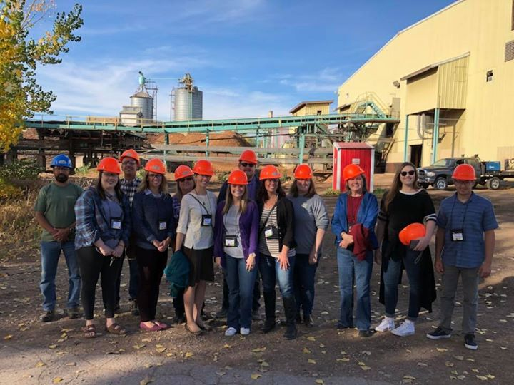 Leadership Spearfish Class of 2017-18 is hard (h)at it again. Thank you Spearfish Forest Products for the awesome tour!