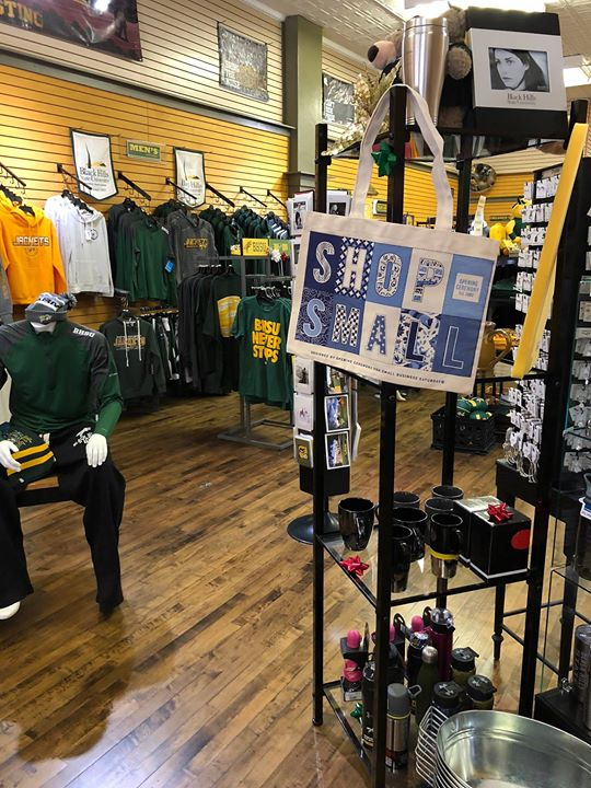 Have you heard the buzz? Small Business Saturday in Spearfish is only 5 DAYS AWAY!   SHOP SMALL | SHOP LOCAL | SPEARFISH FIRST  BHSU Jacket Zone